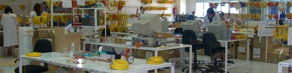Montage fibre optique laboratoire