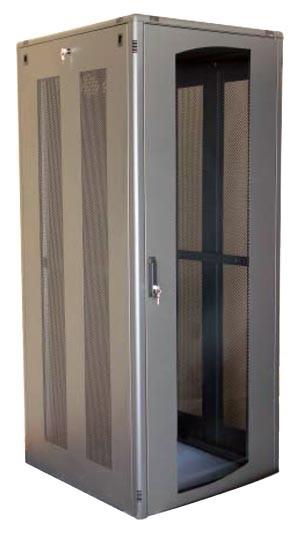 Baies, armoires et coffrets mettalliques pour communications