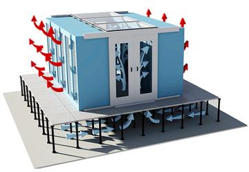 Les couloirs froids et chauds: pour des Datacenter plus efficaces