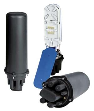 Boîtiers et têtes de câble pour fibre optique